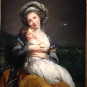 Louise Vigée le Brun et sa fille